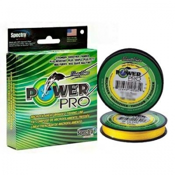 Plecionka Power Pro 0,15mm 135m 9kg/20lb Hi-Vis Yellow-5252